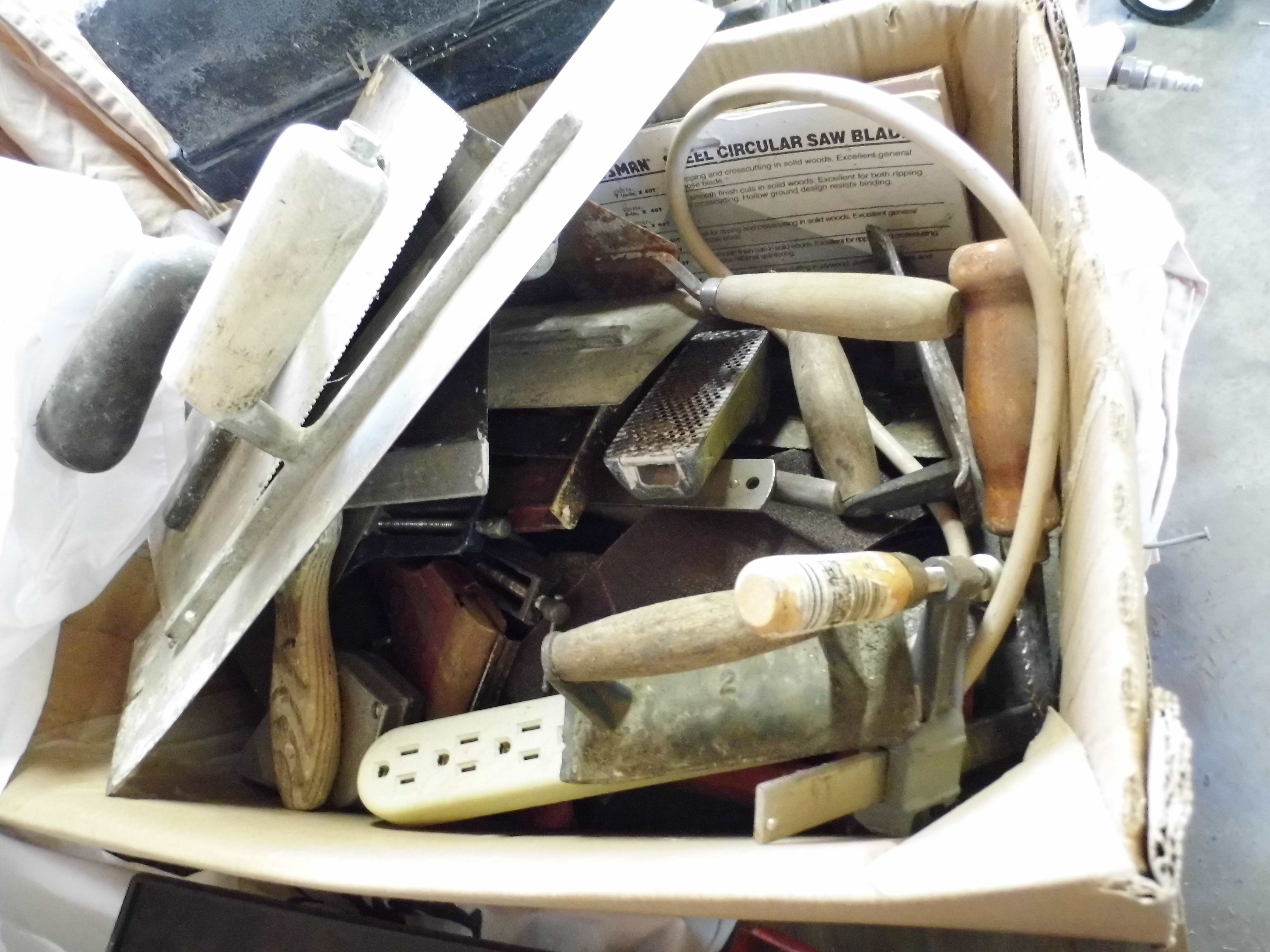 Cement and Plastering tools