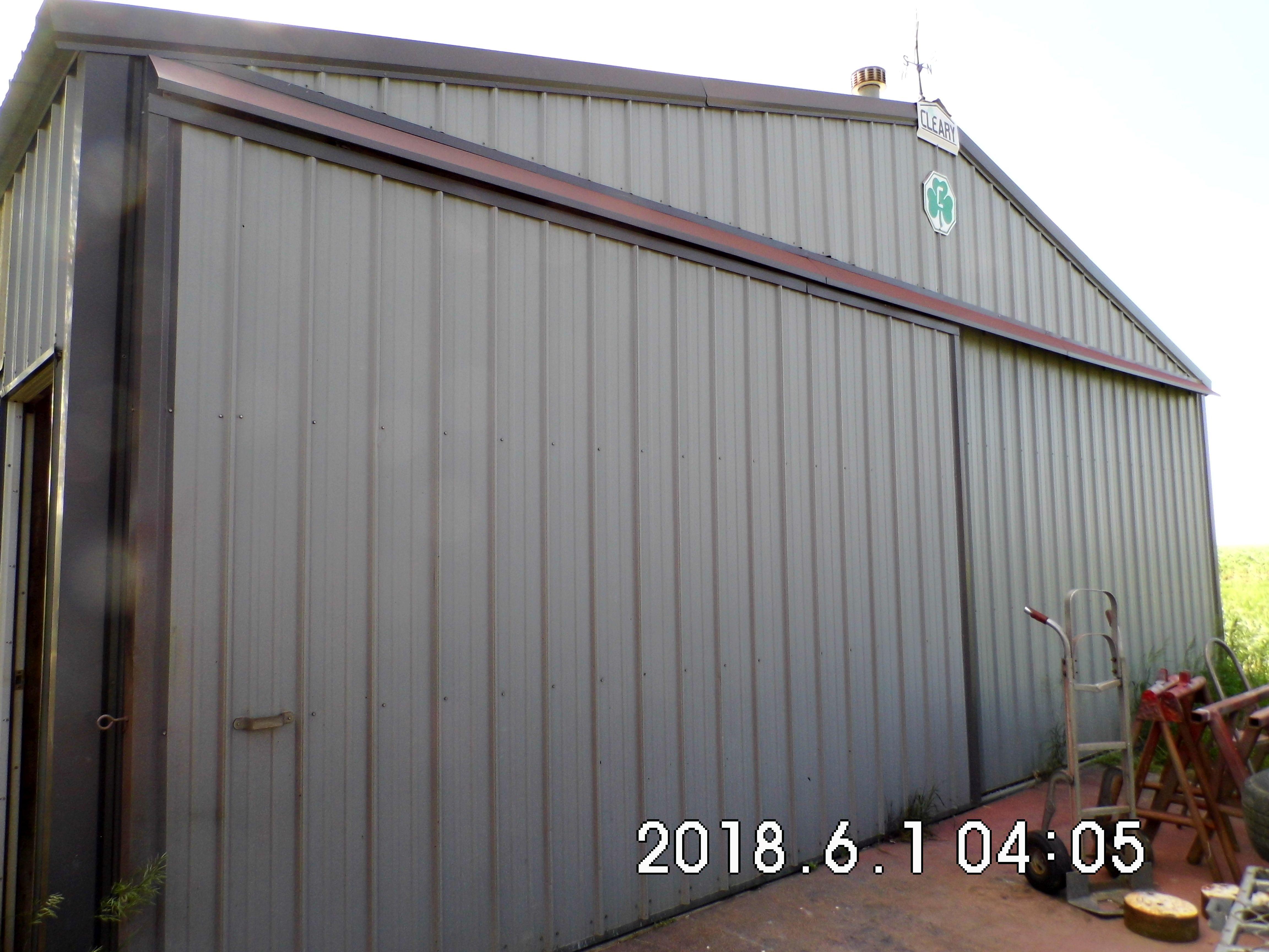 12.1 East side of shop