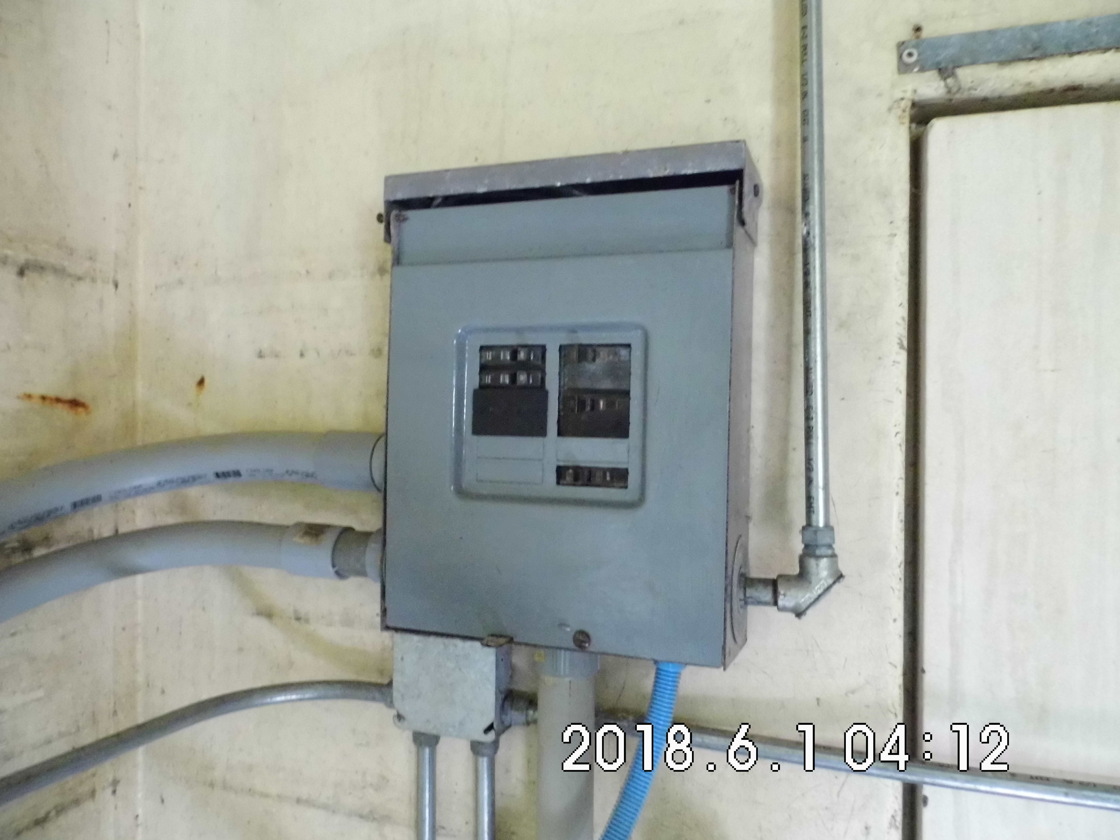 3 Breaker Box for water pump