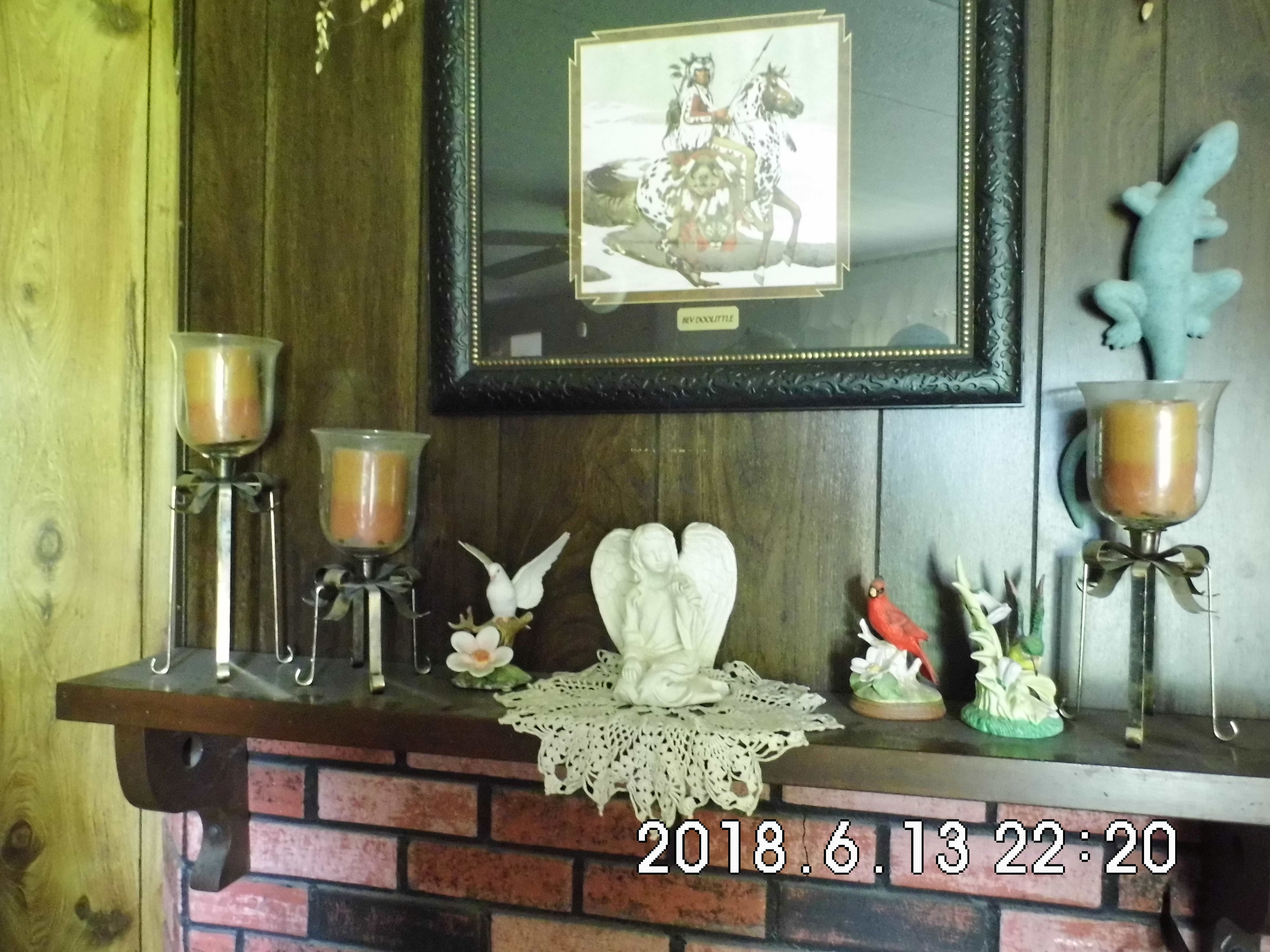 Candle Holders and Knick Knacks