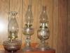 1 Kerosene lamps