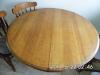 48inch Rnd Oak Table