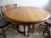 Rnd Oak Table