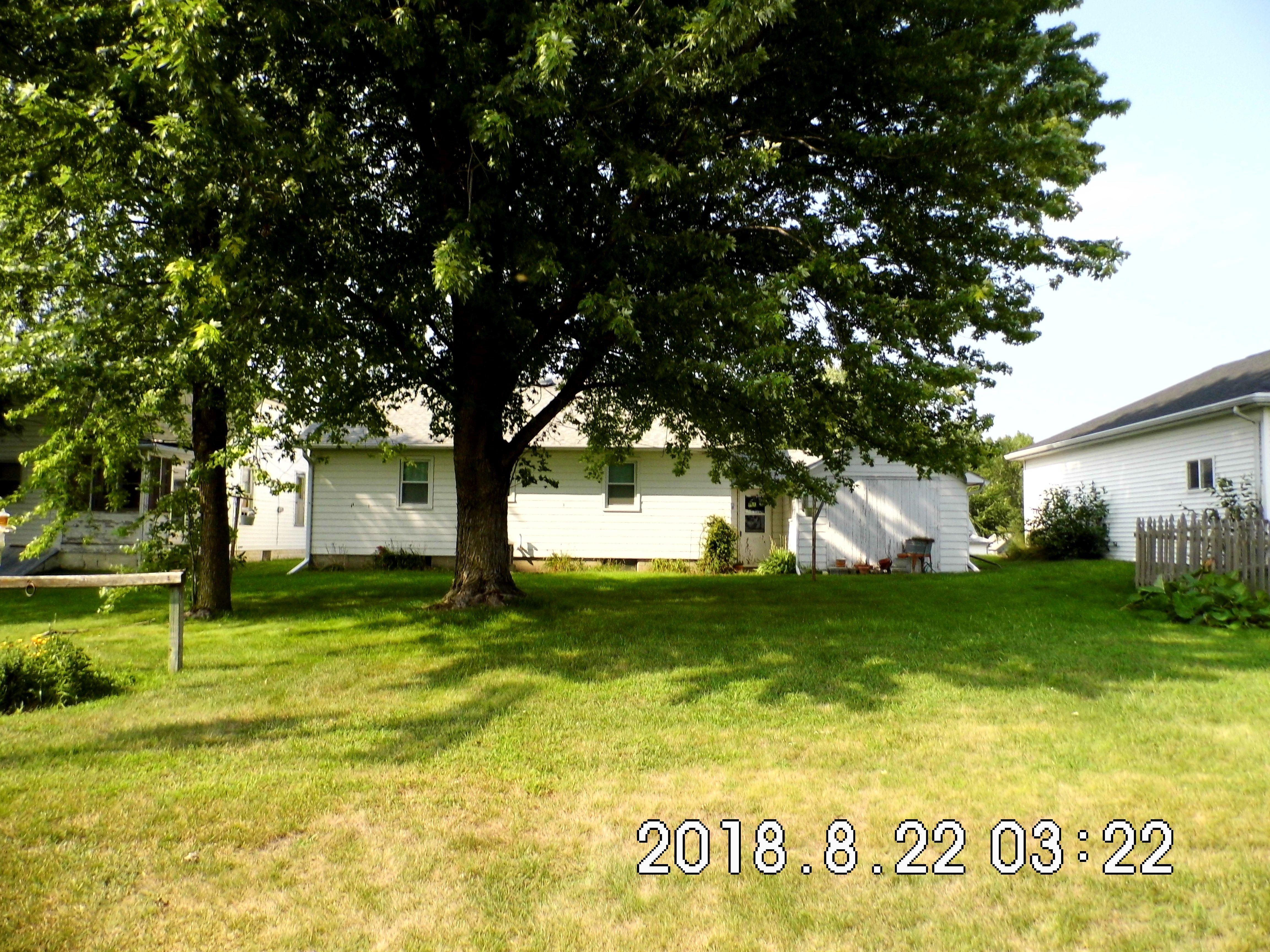 1.8 303 Elm St. Back yard