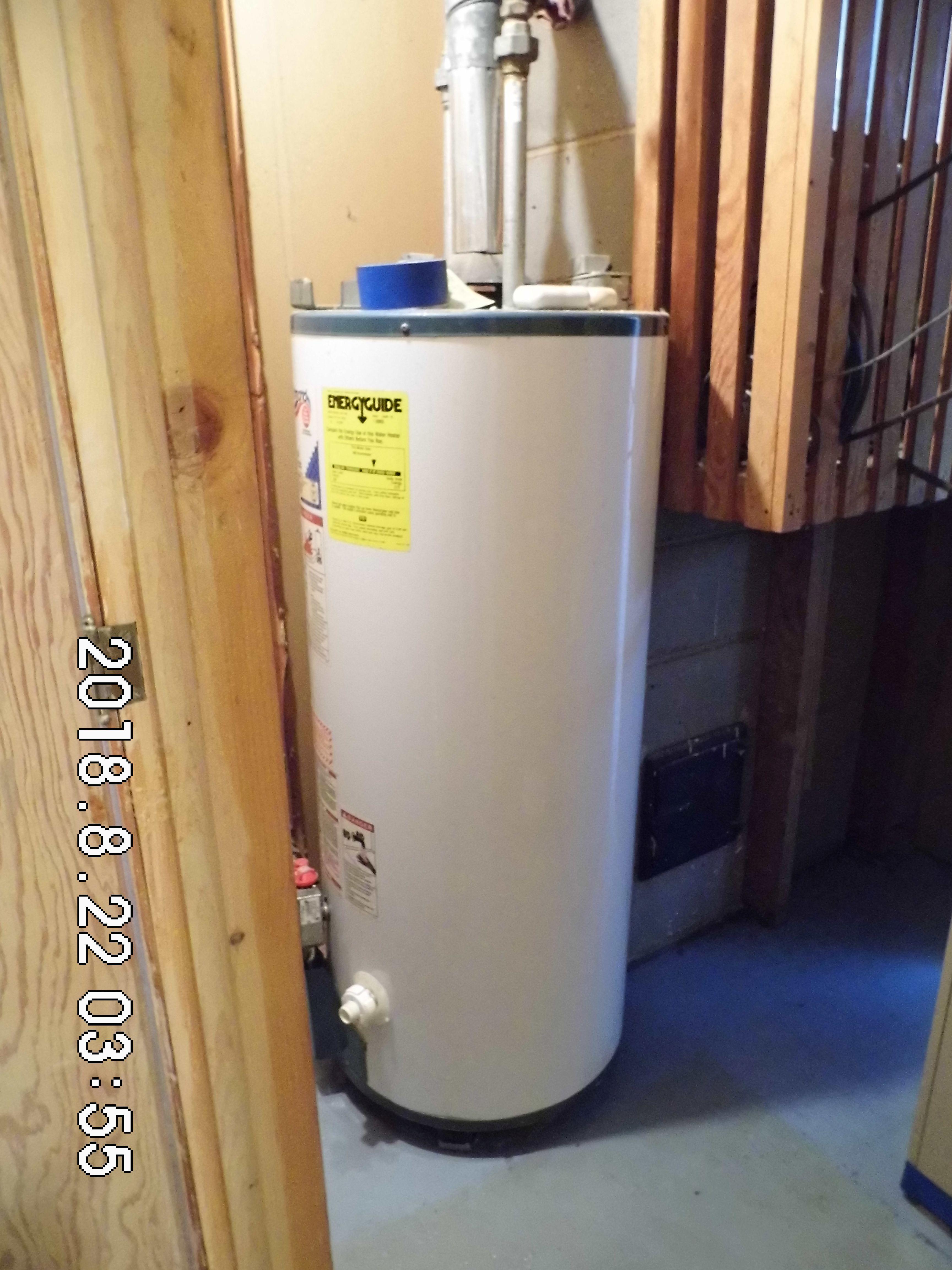 3.4 303 Elm St. 40gal Water Heater