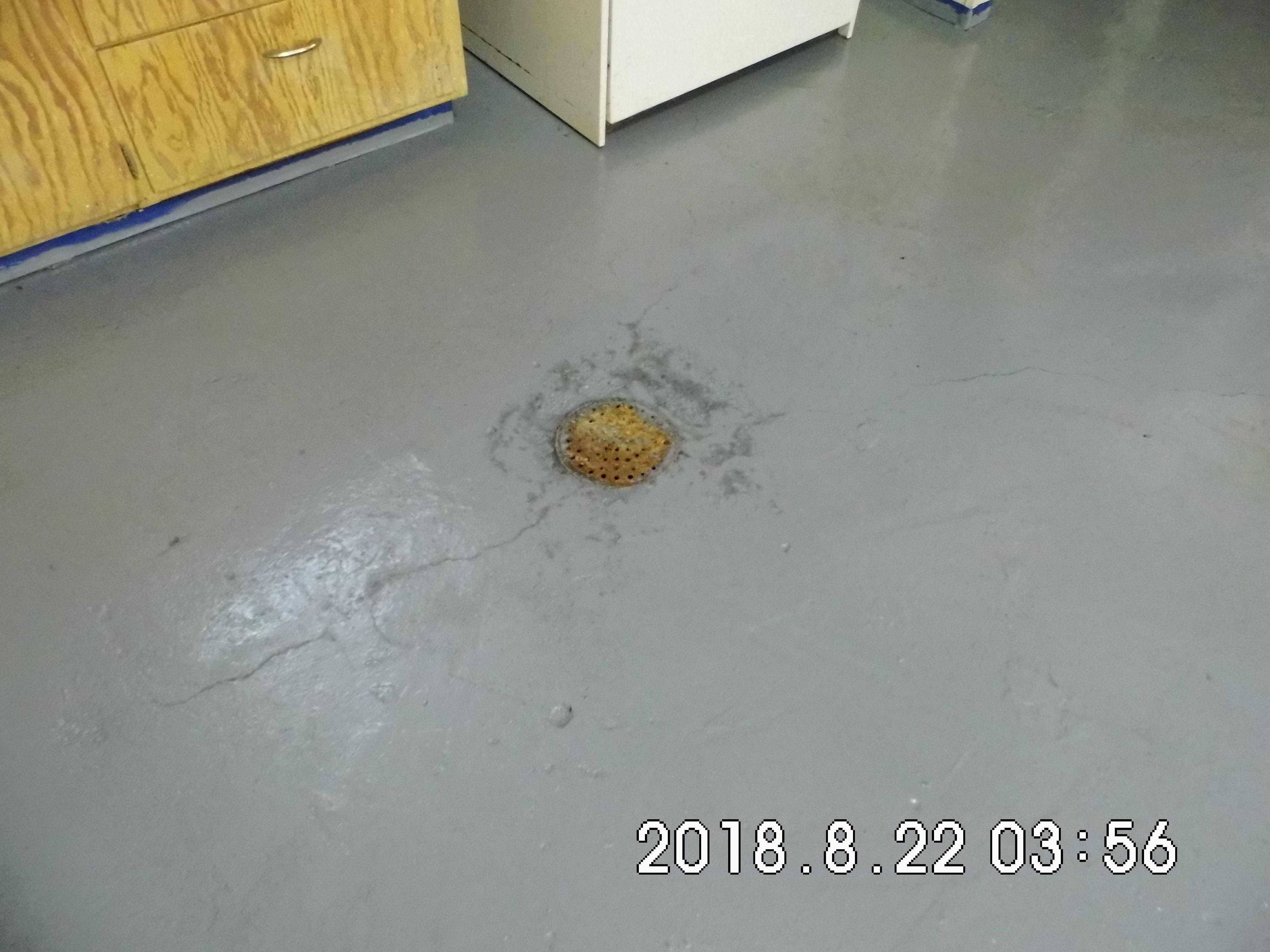3.7 303 Elm St. Basement Floor Drain