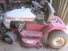 6 White Lawn Tractor