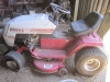 6.1 White Lawn Tractor